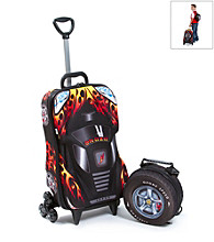 MaxToy Black Oz Speedy Car 3D Roller BackPack Set