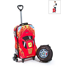 MaxToy Red Oz Speedy Car 3D Roller BackPack Set