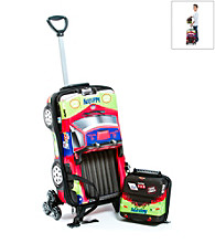 MaxToy Rally Pick-Up Truck 3D Roller BackPack Set