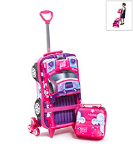 MaxToy Star Pick-Up Truck 3D Roller BackPack Set