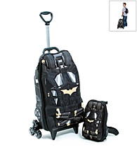 MaxToy Black Batman® Dark Knight 3D Roller BackPack Set