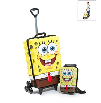 MaxToy SpongeBob® 3D Roller BackPack Set
