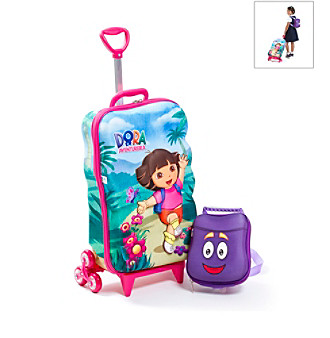MaxToy Dora the Explorer® 3D Roller BackPack Set
