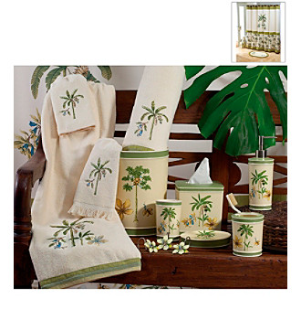 Williamsburg by Avanti® Catesby Palms Bath Collection
