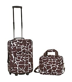 Rockland® 2-pc. Giraffe Luggage Set