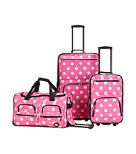Rockland® 3-pc. Dot Luggage Set