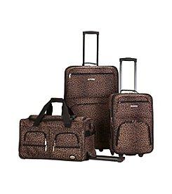 Rockland® 3-pc. Leopard Luggage Set