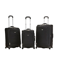 Rockland Polo Equipment ® 3-pc. Black Fusion Luggage Set
