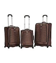 Rockland Polo Equipment ® 3-p.c Leopard Fusion Luggage Set