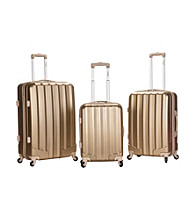 Rockland® 3-pc. Metallic Polycarbonate Upright Set