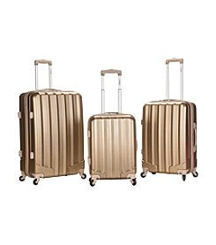 Rockland® 3-pc. Metallic Polycarbonate Upright Set