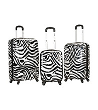 Rockland® 3-pc. Safari Polycarbonte Upright Set