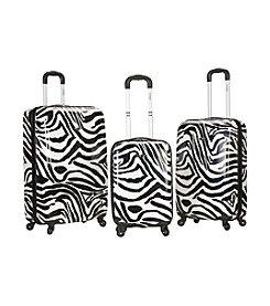 Rockland® 3-pc. Safari Polycarbonte Upright Luggage Set
