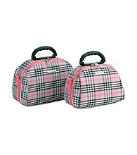 Luca Vergani® 2-pc. Pink Cross Cosmetic Set