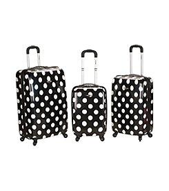 Rockland® 3-pc. Laguna Beach Polycarbonate Upright Luggage Set