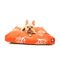 Majestic Home Goods Coral Small Rectangle Pet Bed