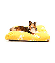 Majestic Home Goods Coral Medium Rectangle Pet Bed