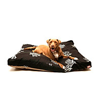 Majestic Home Goods Coral Large Rectangle Pet Bed
