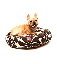 Majestic Home Goods Plantation Small Round Pet Bed