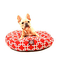 Majestic Home Goods Links Small Round Pet Bed