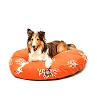 Majestic Home Goods Coral Medium Round Pet Bed