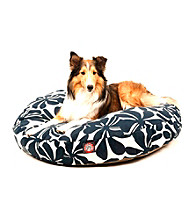Majestic Home Goods Plantation Medium Round Pet Bed