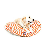 Majestic Home Goods Zig Zag Large Round Pet Bed
