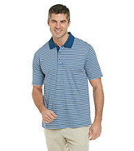 Kenneth Roberts Platinum® Men's Liquid Cotton Tonal Stripe Polo