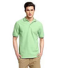 John Bartlett Consensus Men's Performance Pique Polo