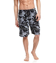 John Bartlett Statements Men's Black & Grey Camo Shorts