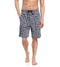 John Bartlett Statements Men's Grey Motorcycle Pajama Short