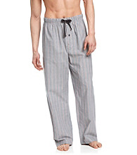 John Bartlett Statements Men's Grey Multi-Stripe Woven Pajama Pant
