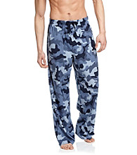 John Bartlett Statements Men's Blue Camo Printed Knit Pant