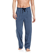 John Bartlett Statements Men's Blue Dot Printed Knit Lounge Pant