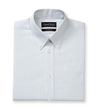 Kenneth Roberts Platinum® Men's Blue & Green Grid Dress Shirt