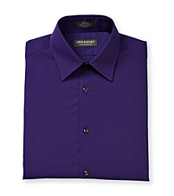 John Bartlett Statements Men's Plum Long Sleeve Dress Shirt
