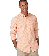Chaps® Men's Long Sleeve Gullah Sea Gingham Woven