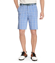 Izod® Men's Flat-Front Yarn-Dye Short