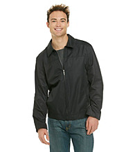 Perry Ellis Portfolio® Men's Black Zip Front Jacket