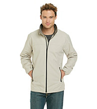 Perry Ellis Portfolio® Men's Sandstone Zip Front Jacket