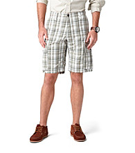Dockers® Men's Vetiver Classic-Fit Passard Plaid Cargo Short