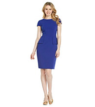 Anne Klein® Peplum Dress