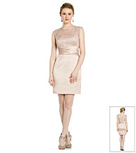 Cachet® Lace Satin Dress