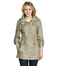 Buffalo by David Bitton Waxy Cotton Anorak