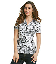 Studio Works® Petites' Printed Polo