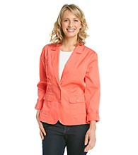 Studio Works® Two-Button Blazer