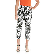 Studio Works® Petites' Printed Cropped Pant