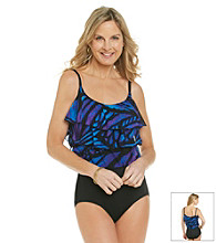 Studio Works® Mesh Tier One-Piece Swimsuit