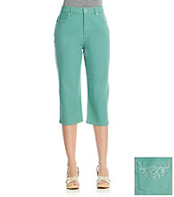 Gloria Vanderbilt® Amanda Radiance Scroll Color Capri