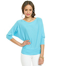 Jeanne Pierre® Boatneck Dolman Sleeve Sweater
